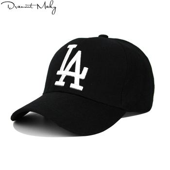 Nueva moda de LA gorra de béisbol de los Dodgers bordado Hip Hop hueso  Snapback sombreros para hombres y mujeres ajustable Gorras Unisex tapa al  por mayor 78d31ab931a