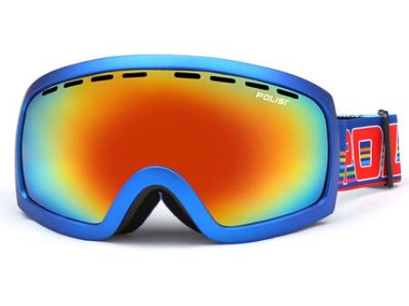 Prix pour POLISI Coupe-Vent Snowboard Patinage Ski Lunettes Double Couche Anti-Buée Ski Lunettes UV400 Extérieure Motoneige Neige Lunettes