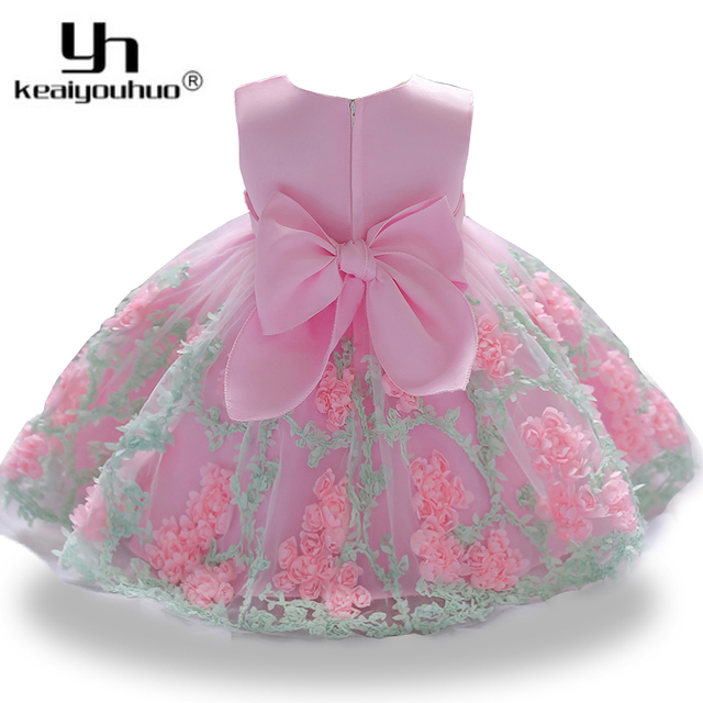 2aab1dabc 2018 Baby Kids Dresses For Girls Clothes 2nd 1st Birthday Princess ...