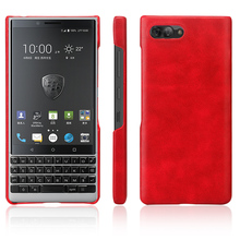 For BlackBerry KEY2 Case Crazy Horse Grain Hard PC Snap-On Shockproof Back Cover Protector For BlackBerry KEY2 LE Case Key 2 decorative colors crystal protective back case for blackberry 8520 8530
