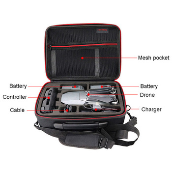 Mavic Pro DJI Hardshell Waterproof Shoulder Drone Bag Carry Cases Portable Storage Box Shell Handbag For DJI MAVIC PRO Platinum 5