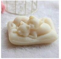 Darmowa wysyłka modelowanie bergamotka mydła silikonowe formy mydło formy wysokiej jakości modelowanie formy handmade soap mold