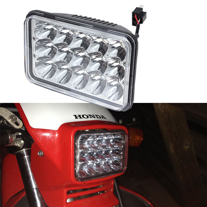 4x6'' inch Square led headlight LED Projector Conversion Headlight