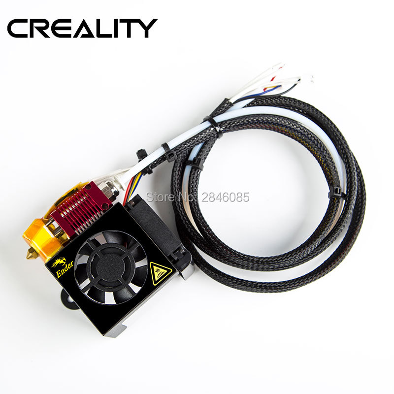 CREALITY 3D Full Assembled Extruder Kits With 2PCS Fans Fan Cover For Ender-3 3D Printer