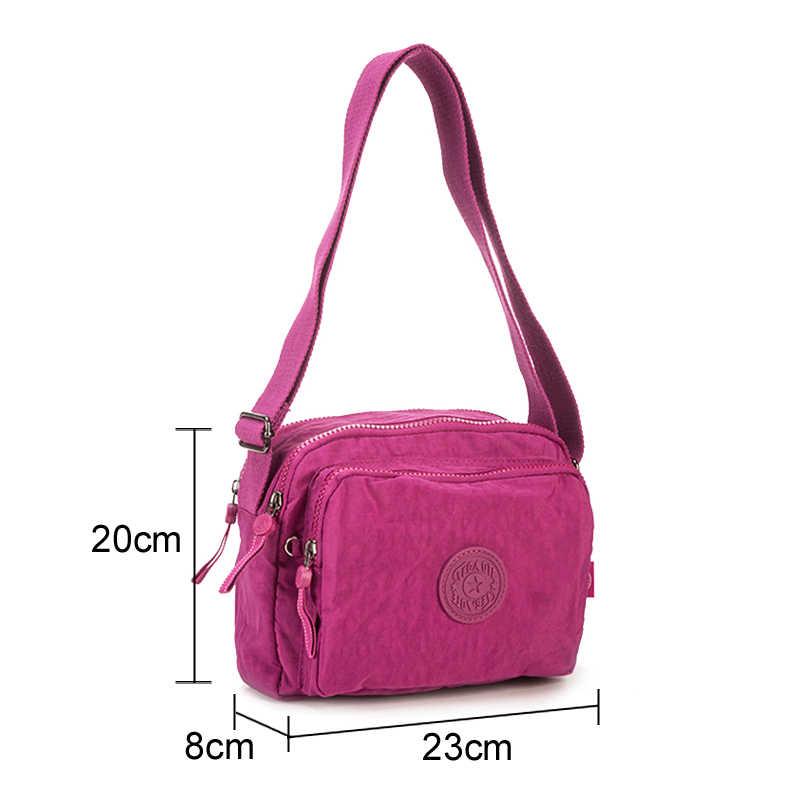TEGAOTE Pequena Sacos de Ombro Bolsa Feminina de Luxo Wome Designer Flap Mini Dames Tassen Praia Crossbody Bag Bolso Mujer Nylon 2019
