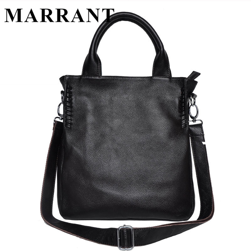 ФОТО MARRANT Fashion Shoulder Bag Women Messenger Bags Genuine Leather Women Bag Travel Crossbody Bags Leather Handbag Totes Bolsa