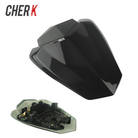 Cherk Black Plastic Motorcycle Pillion Rear Passenger Seat Cowl Cover For YAMAHA R1 YZF1000 2009 2010 2011 2012 2013 2014