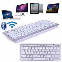 Wireless Bluetooth Mini Keyboard For Apple IOS Macbook Ipad Android Microsoft