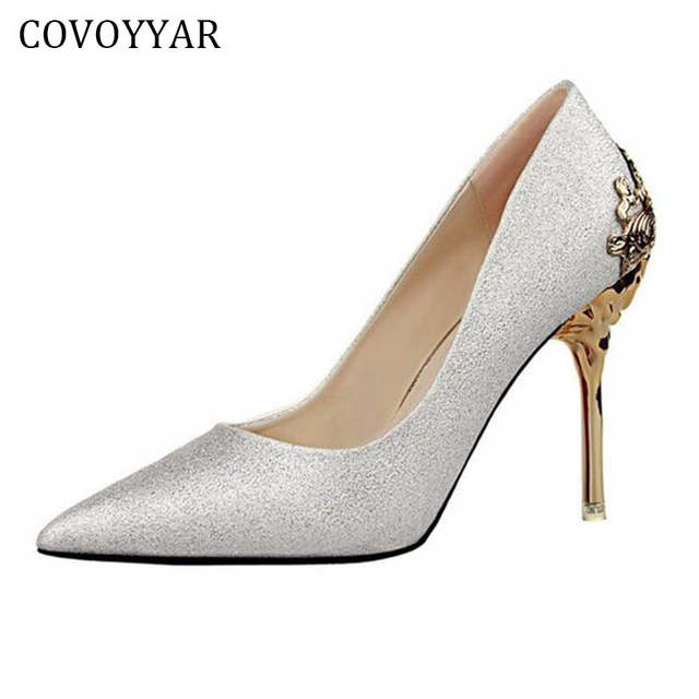 2019 Vintage Lady High Heels Delicate Carved Heel Women Shoes Sexy Stiletto  Pumps Luxury Wedding Shoes. placeholder ... 6dfa9dcea15a
