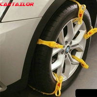 5pcs Lot Snow Chains For Cars Suv Trucks Winter Universal Cars Tire Snow Chain Anti Slip