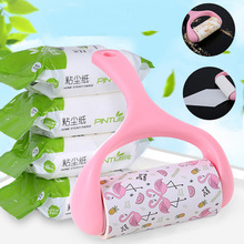Household Cleaning Lint Roller Convenient Pet Hair Remover Clothes Brush Removes For