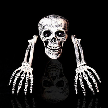 New Esqueleto halloween Skeleton Decoration Halloween Horror Buried Alive Skeleton Skull Garden Yard Lawn Decoration for Party 2