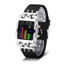 TVG Mens 2019 New Fashion 100FT Waterproof Watch Men Polychromatic Light LED Digital Sport Watch Gift Relogio Masculino все цены
