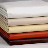 Soft Artificial Leather Fabric For DIY Sofa Cloth Background Wall Thickened Embossed PU Leather Wholesale By