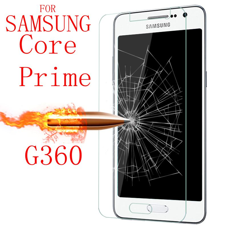 9H Tempered Glass for Samsung Galaxy Core Prime G360 G361 G3608 SM-G361H SM-G360H SM-G361F Screen Protector Films case