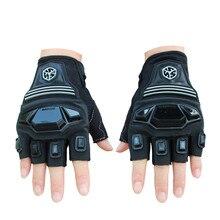 Половина Finger Дышащие Перчатки Мотоцикла Спорт На Открытом Воздухе Перчатки Мотокросс Велоспорт Велосипед Гонки по бездорожью Защитные Перчатки