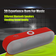 Новый nby-18 Mini Bluetooth Динамик Портативный Беспроводной Динамик 360 градусов стерео звук Системы 3D музыка объемного Поддержка TF AUX USB