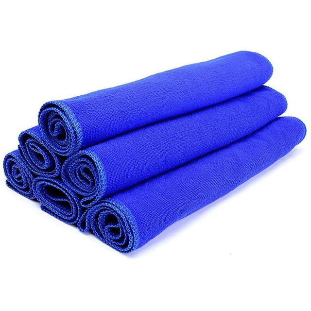 Wiping towel  1Pcs 30*70cm Soft Microfiber Cleaning Towel Car Auto Wash Dry Clean Polish Cloth Wiping towel Dropshipping