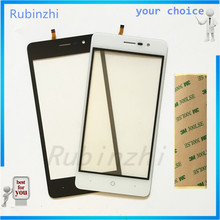 RUBINZHI Phone Touch Screen For Doogee X10 Touch Panel Digitizer Front Glass Touchscreen Sensor Replacement Free Shipping