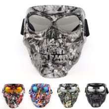 Motocross Face Devil Mask Outdoor Sport Motorbike Riding Racing Dustproof Off-road Devil Mask Motorcycle goggle футболка print bar hit the road devil