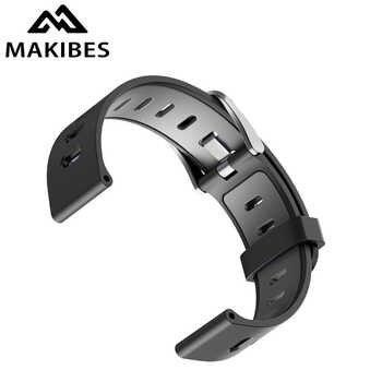Original MAKIBES BR3 Ladegerät & Uhr Band Doppel-farbe Strap für BR3 für Amazfit Bip für WeLoop hey 3 s für Ticwatch2 für CK03