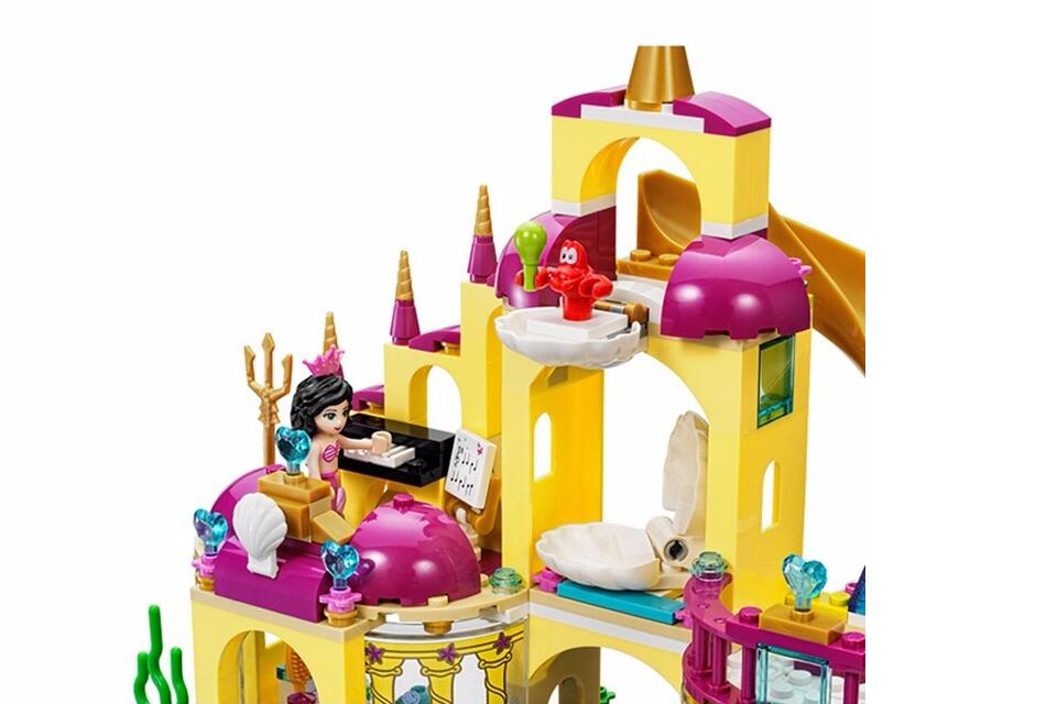 Happywill-Gift-bag-stickers-New-402pcs-JG306-Princess-Undersea-Palace-Girl-Building-Blocks-Bricks-Toys-For-Children-Christmas-5