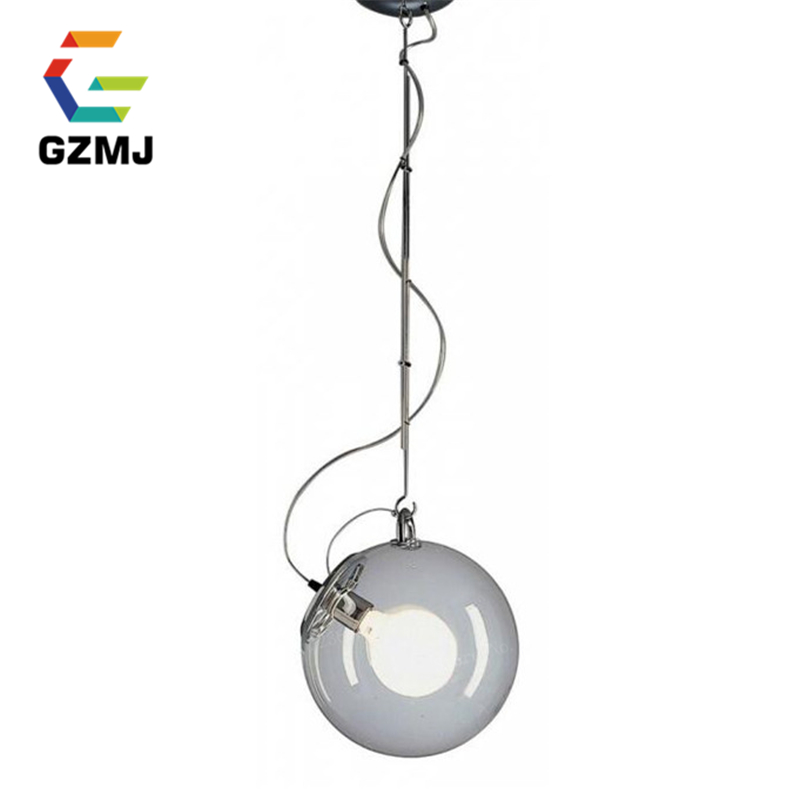 Modern Glass Pendant Light Industrial Loft Retro Droplight Bar Cafe Bedroom Restaurant Home American Country Style Hanging Lamp vintage iron pendant light industrial loft retro droplight bar cafe bedroom restaurant american country style hanging lamp