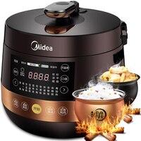 LK1746 High Quality Smart Pressure Cooker with 2 Spherical Inner Pots 4.8L Timed Rice Cooker Pressure Adjustable Non stick Black