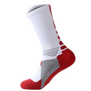 1 pair Men Women Riding Basketball Socks Unseix Breathable Bicycle Footwear