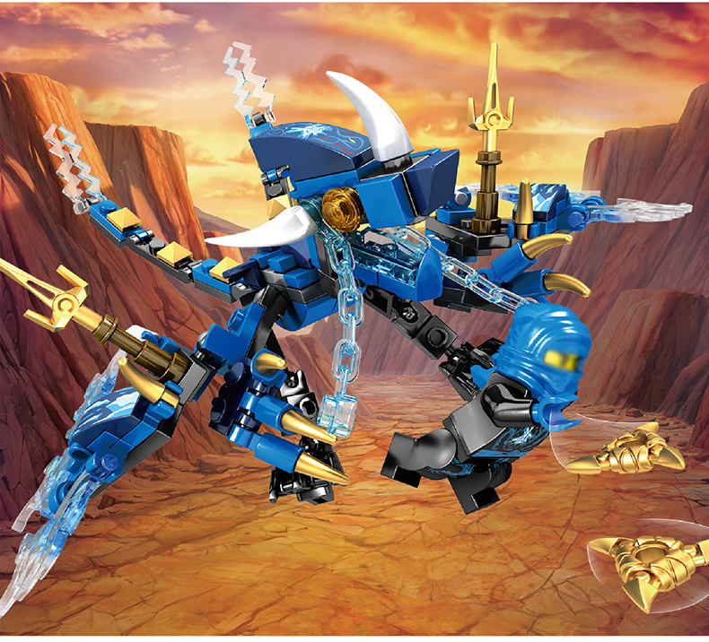 Ninjago Dragon Building Blocks 29