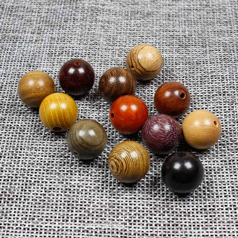 Natural Rosewood Wood Round Beads Various Sizes