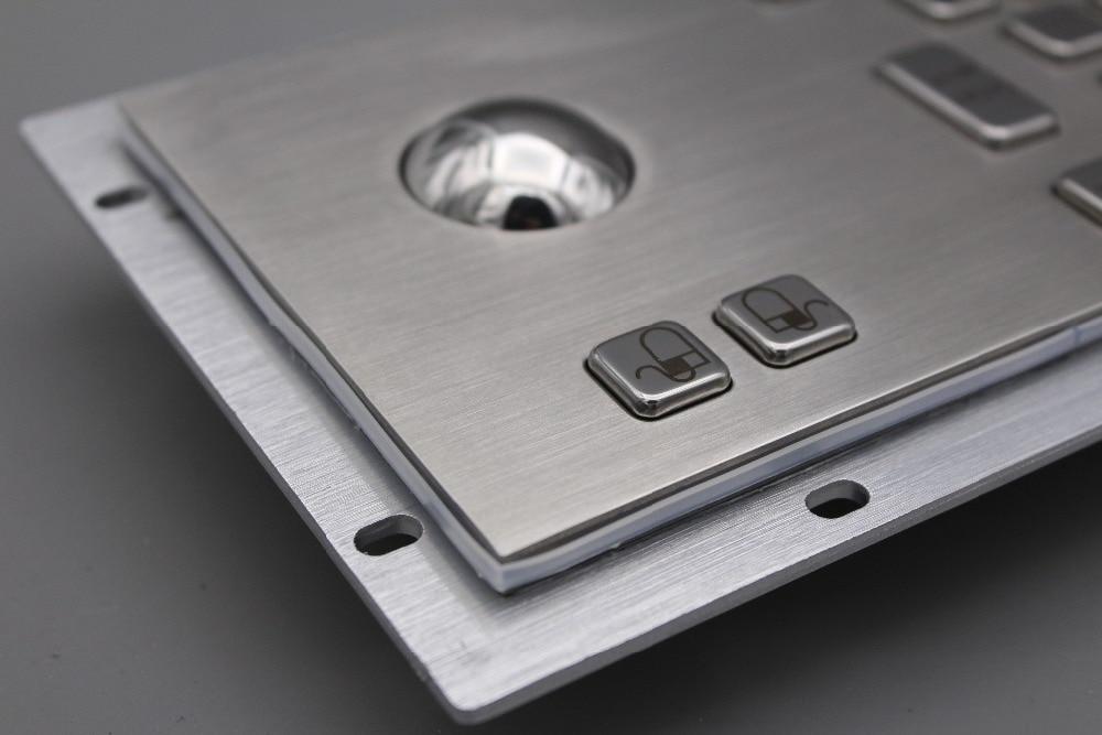 Teclado de acero inoxidable Teclado quiosco de metal con teclados - Periféricos de la computadora - foto 6