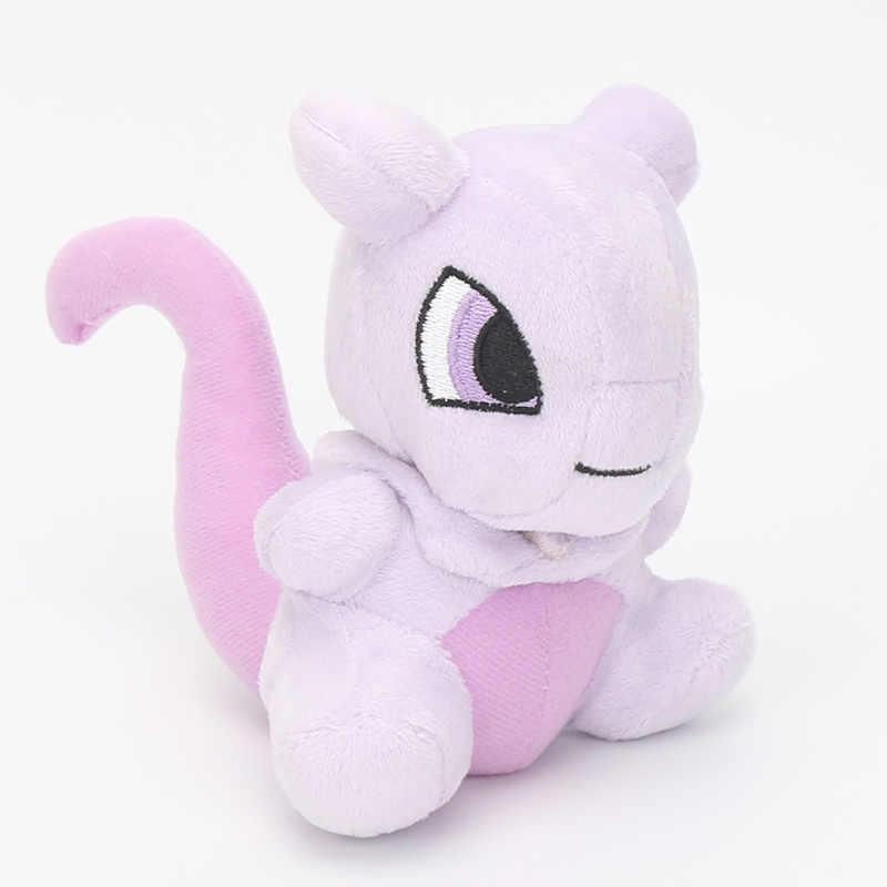 14 ~ 20cm cep bebek Ampharos Lucario Gengar Jigglypuff Lapras Lugia Charizard Mewtwo peluş oyuncaklar dolması yumuşak bebekler