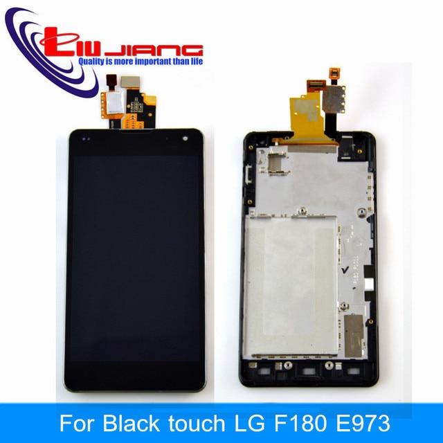 Brand new um +++ lg optimus g ls970 f180 e971 e973 e975 Display LCD Touch Screen com Digitador Assembléia + Ferramentas Frete grátis