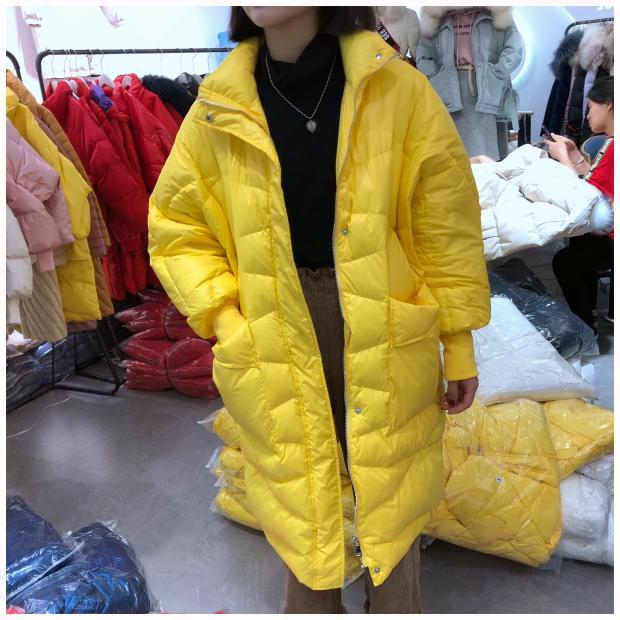 Lâche Taille Survêtement Noir La Bref Plus Duvet Blanc Canard Ultra Originale allumette Tout blanc Manteau Lynette's jaune Conception Vestes De Femmes Chinoiserie D'hiver wHzAvq0
