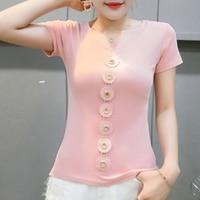 4903e2bdf Pink T Shirt Harajuku Camiseta Mujer Women Short Sleeve Shirt Women Plus  Size Aesthetic Womens Clothing