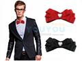 Nova moda Frete Grátis MEN masculina de casamento casar com homens e mulheres se vestem camisa de mangas compridas Coreano gravatas laço na venda por atacado