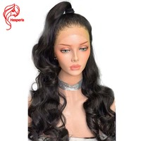 Hesperis130 Denisty 13x6 Lace Front Human Hair Wigs Remy Glueless Lace Front Wigs With Baby Hair Pre Plucked Front Lace Wig