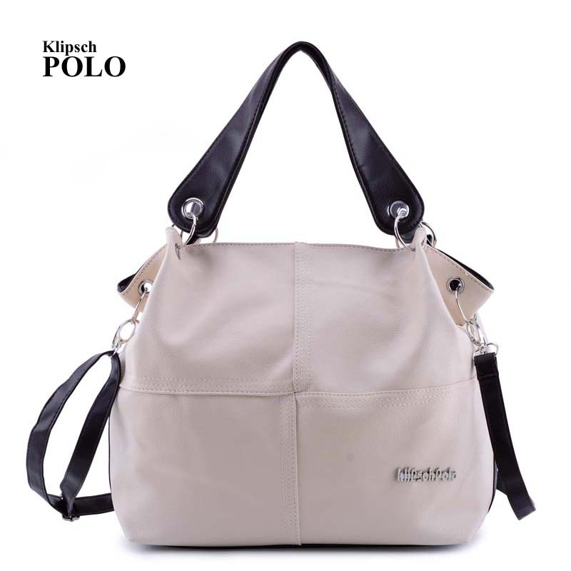 KLIPSCH POLO Designer Women Handbag Female PU Leather Bags Handbags Ladies Portable Shoulder Bag Office Ladies Hobos Bag Totes 1