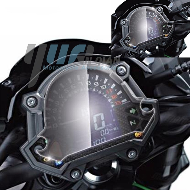 yuanqian moto tableau de bord instrument compteur de vitesse film cran protecteur autocollants. Black Bedroom Furniture Sets. Home Design Ideas