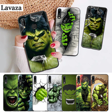 Lavaza Comic Superhero Hulk Silicone Case for Huawei P8 Lite 2015 2017 P9 2016 Mimi P10 P20 Pro P Smart Z 2019 P30
