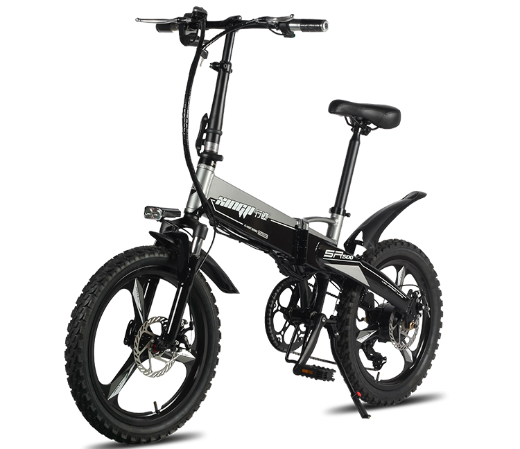 HTB18ejmX6zuK1RjSspeq6ziHVXaP - Daibot Transportable Electrical Bike Two Wheels Electrical Scooters 20 inch Brushless Motor 250W Folding Electrical Bicycle 48V For Adults