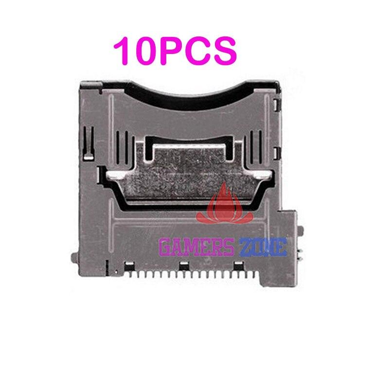 10PCS Replacement For Nintendo DSi NDSi XL LL Slot 1 Game Socket Cartridge Cart Repair