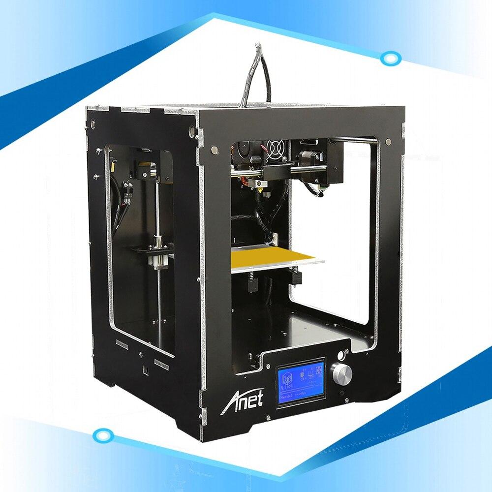 Anet A3S Haute Précision Assemblé 3D Imprimante Machine En Aluminium Composite Panneau 3d Imprimante Machine Shenzhen 3d Maison Imprimante