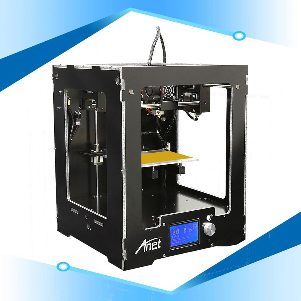 Anet A3S High Accuracy Assembled 3D Printer Machine Aluminum Composite Panel 3d Printer Machine Shenzhen 3d