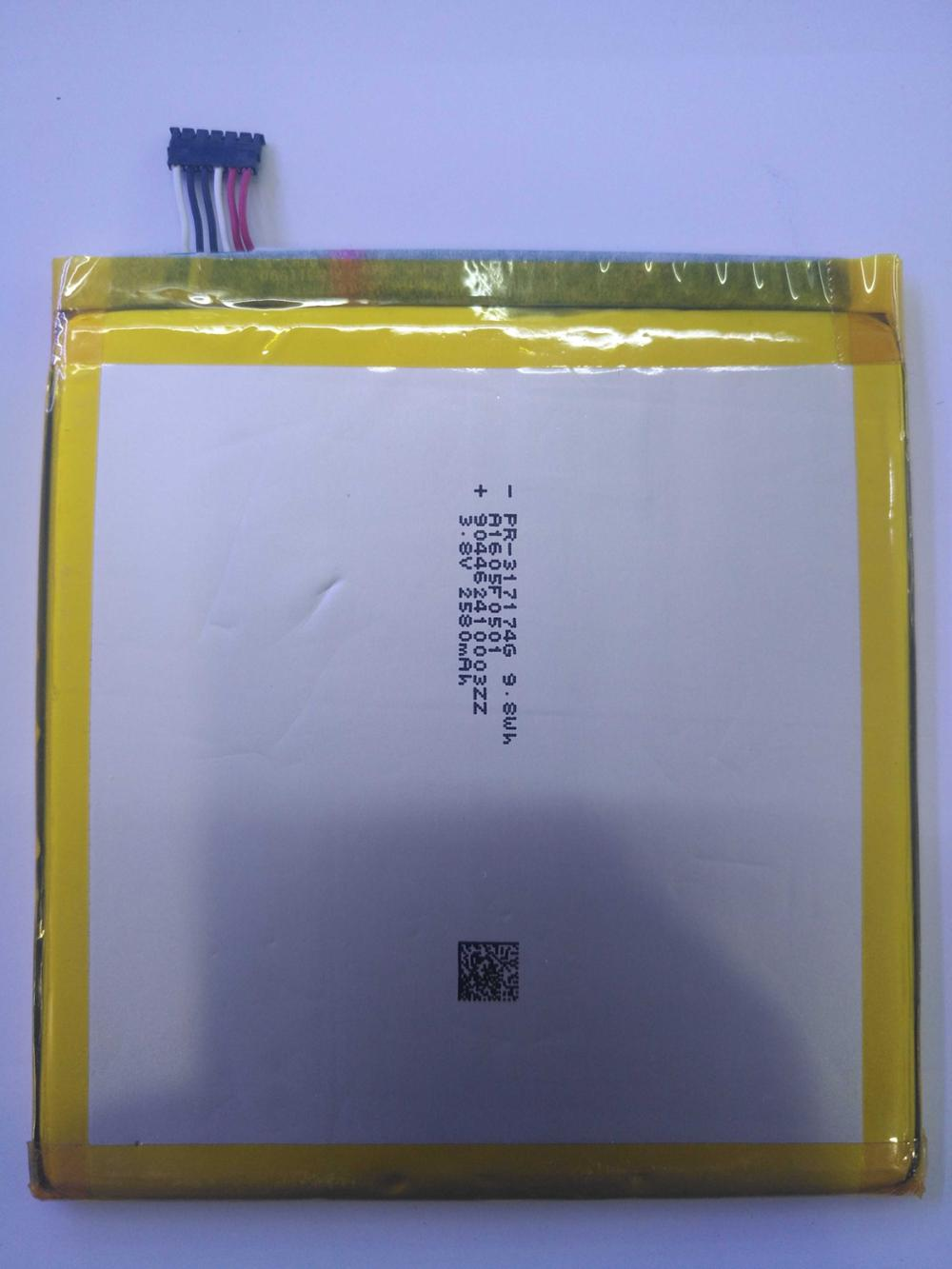 New High Quality Alcatel TLp025DC 2580mAh Battery for Cell phoneNew