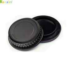 Tapa de Cuerpo de Cámara de alta calidad + tapa de lente trasera para K10D K20D K200D K100D K 7 para Pentax PK Ricoh, 10 par/lote
