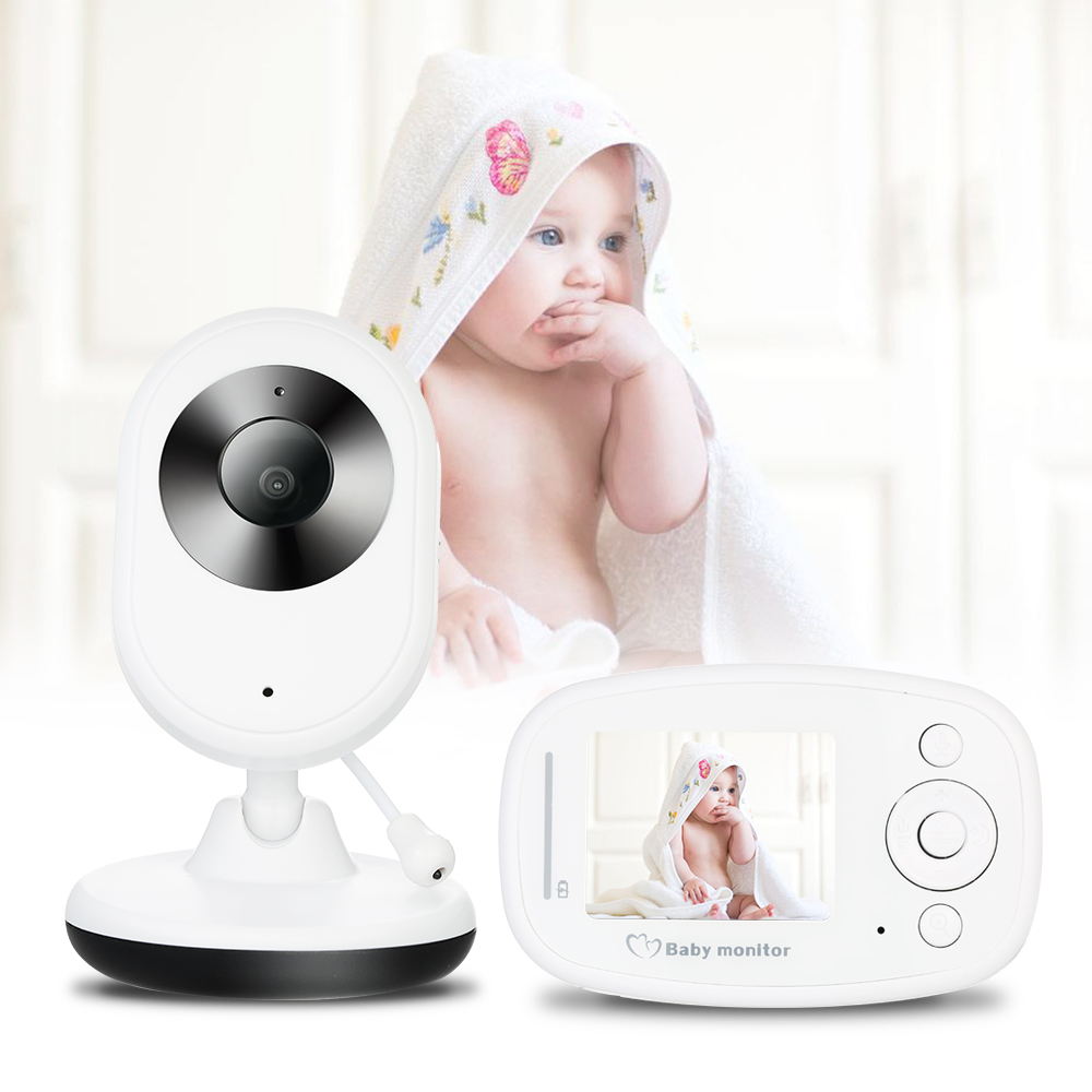 2.4g Wireless 2.4 Inch Lcd Audio Video Baby Monitor Radio Nanny Music Intercom Ir Portable Baby Camera Baby Walkie Talkie Back To Search Resultsmother & Kids