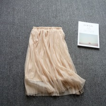 2019 new spring and summer  Half Slip Womens Slips Petticoat Underskirt 9849