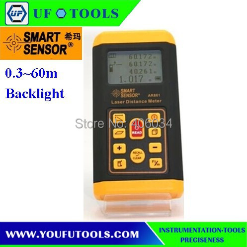 AR861 Digital Laser Distance Meter 0.3~60m  цены